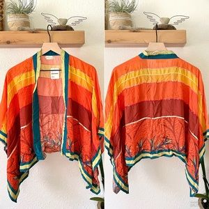 Free People Kimono top